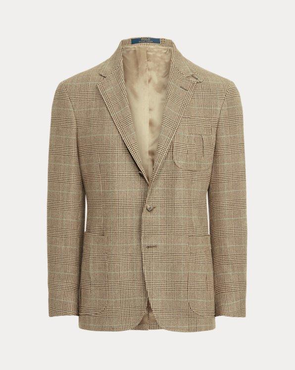 Glen Plaid Tweed Suit Jacket