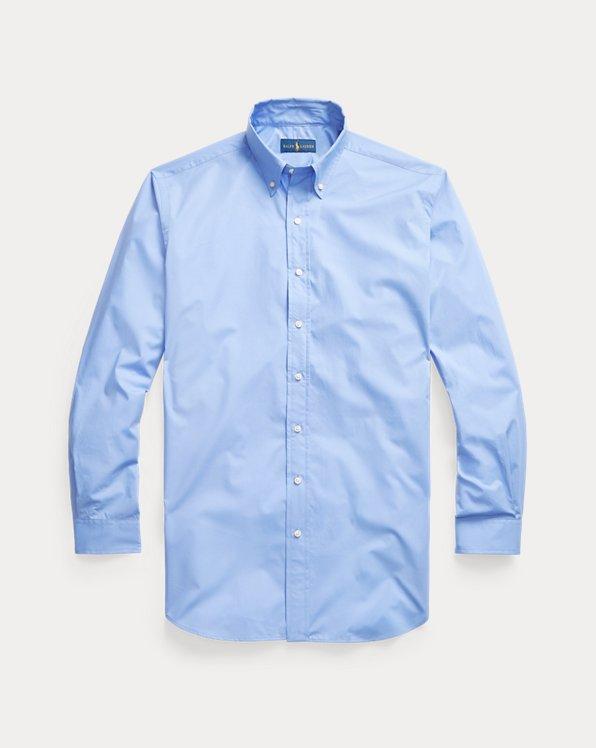 Hemd aus natürlichem Stretchpopeline