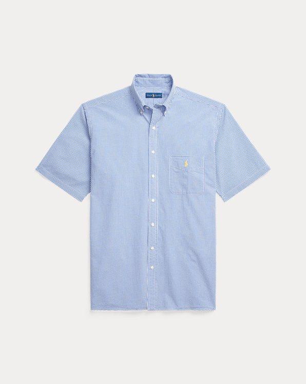 Plaid Seersucker Shirt