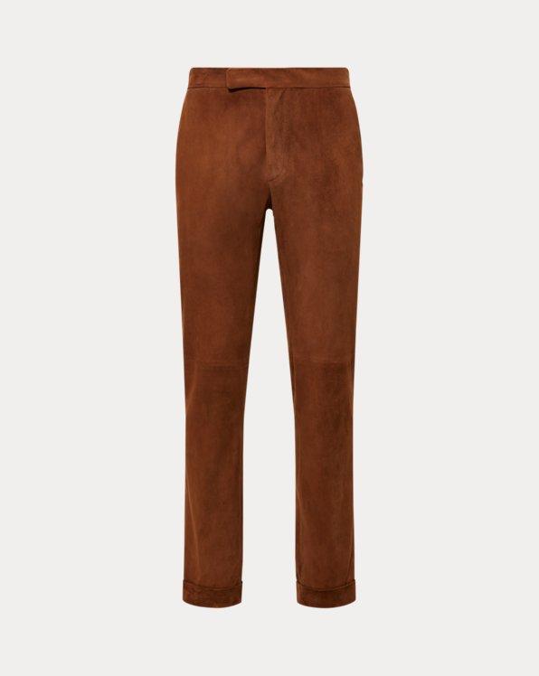 Suede Suit Trouser