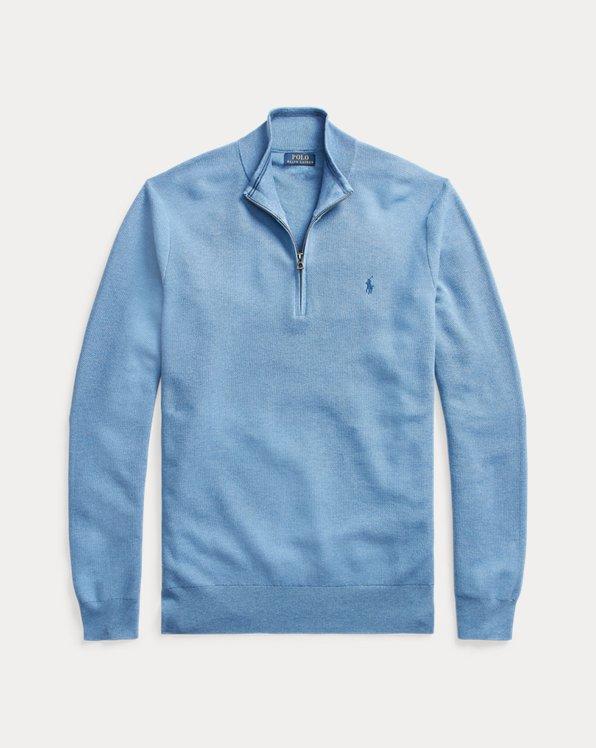 Pullover mit Viertelreißverschluss