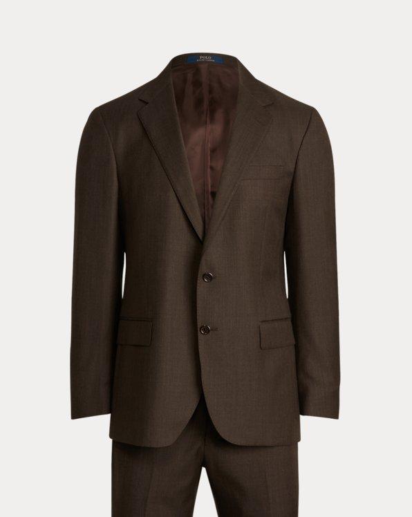 Anzug Polo aus Wolltwill