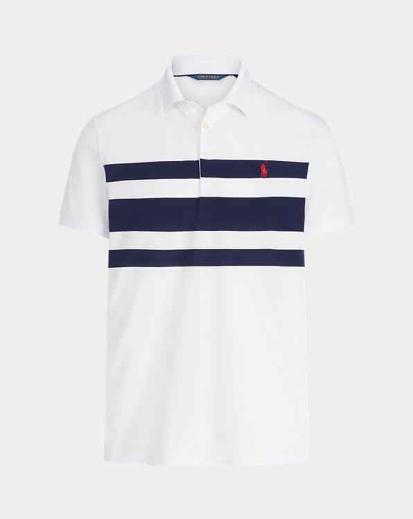 Custom-Slim-Fit Polohemd aus Tech-Piqué