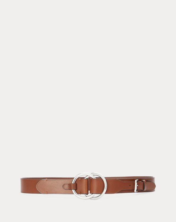 Double O-Ring Leather Belt