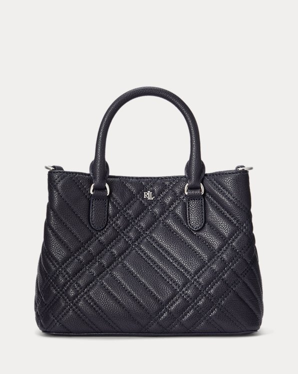 Plaid Quilted Mini Marcy II Satchel