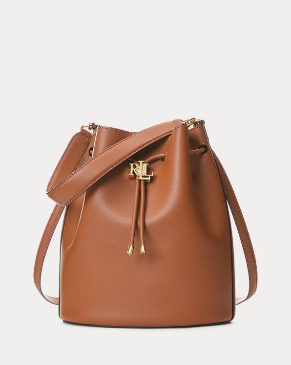 Leather Large Andie Drawstring Bag