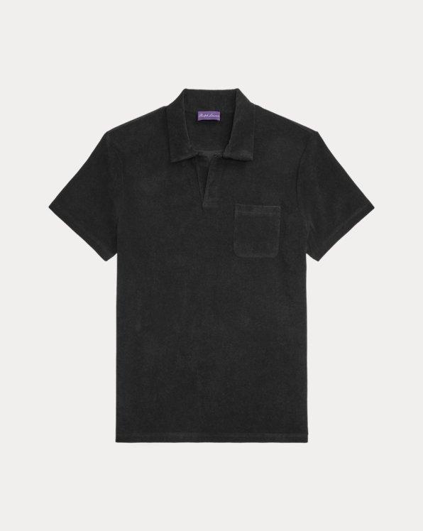 Custom Slim Fit Terry Polo Shirt