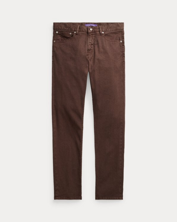 Slim Fit Linen-Cotton Stretch Jean