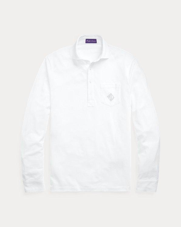 Monogram Pique Polo Shirt