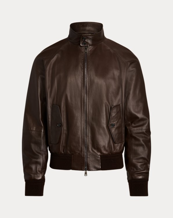 Torrence Plongé Leather Jacket