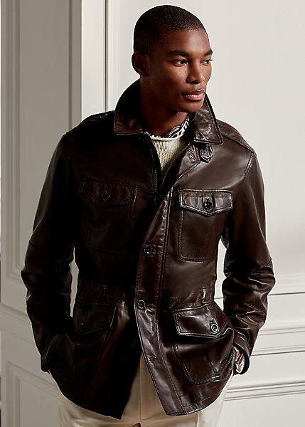 Polo Ralph Lauren Duval Plonge Leather Jacket