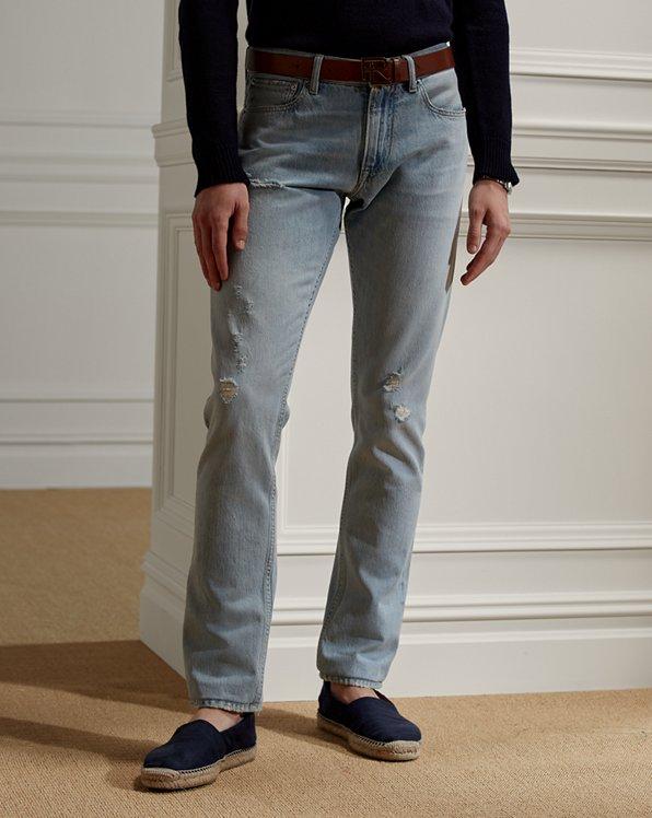 Slim Fit Distressed Jean