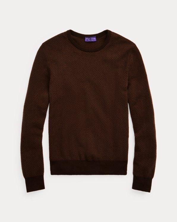 Cashmere Herringbone Sweater