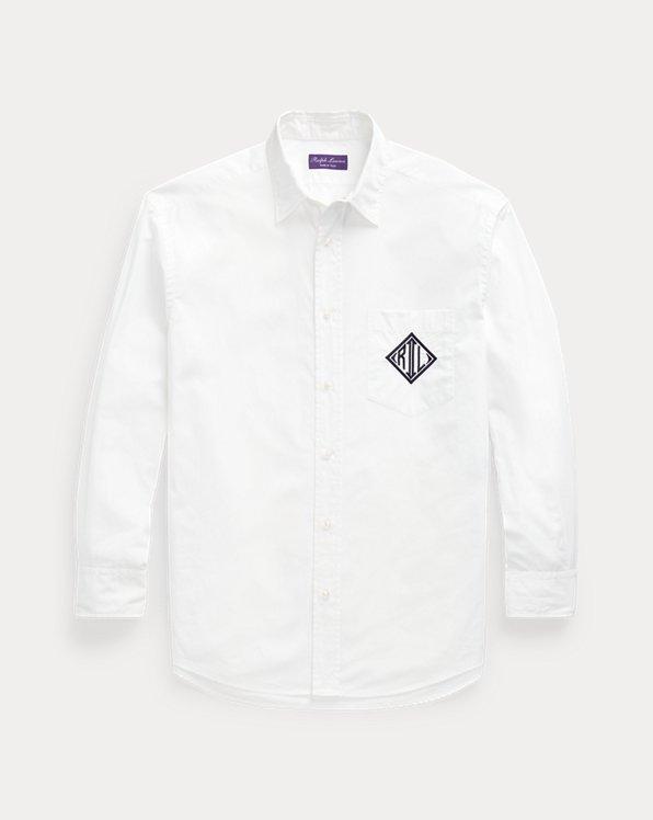 Relaxed Monogram Poplin Shirt