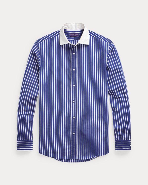 Camisa de popelina a rayas
