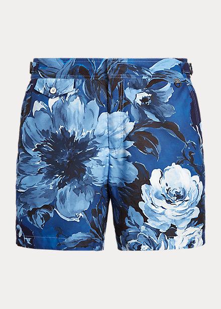 Polo Ralph Lauren 5-Inch Mayfair Floral-Print Swim Trunk