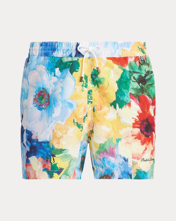 5-Inch Amalfi Floral-Print Swim Trunk