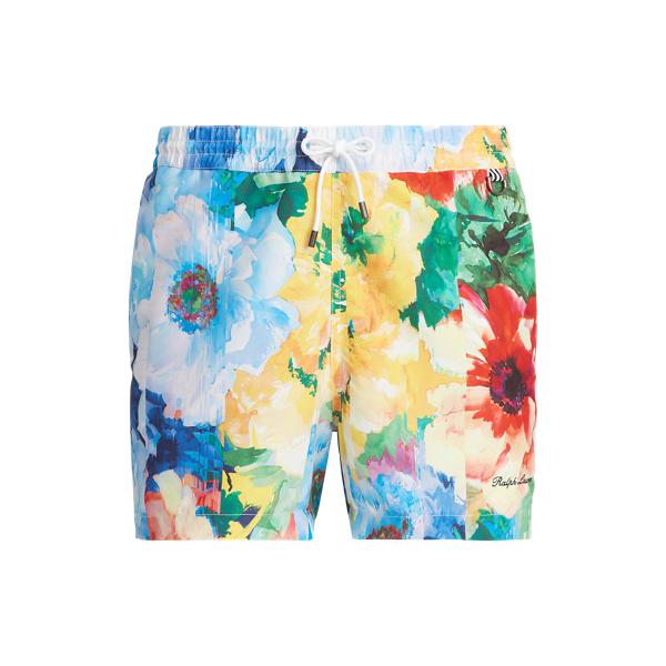 13-cm Amalfi Floral-Print Swimming Trunk