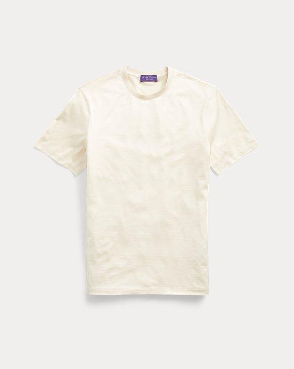 Camiseta de punto en mezcla de seda