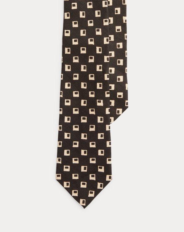 Rustic Neat Linen Tie