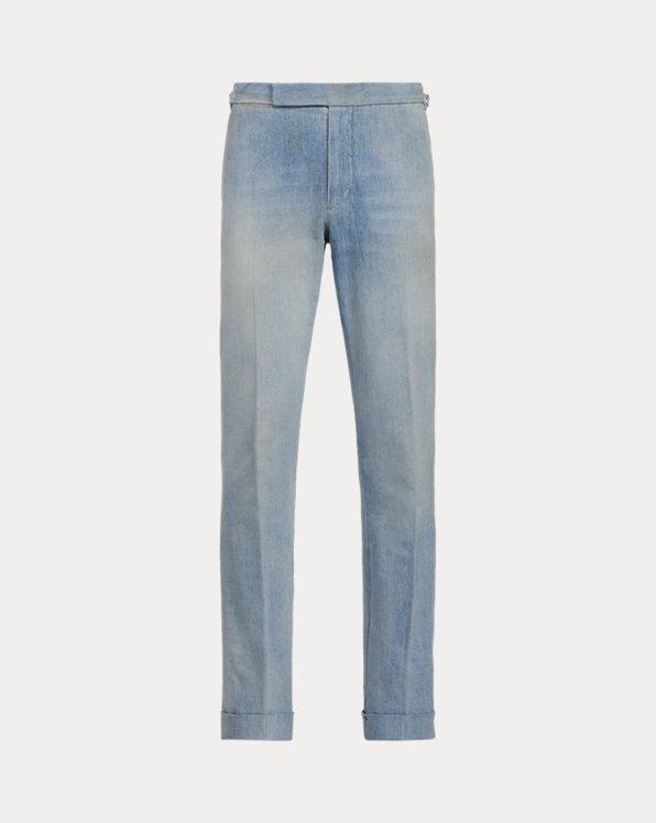 Gregory Faded Denim Suit Trouser