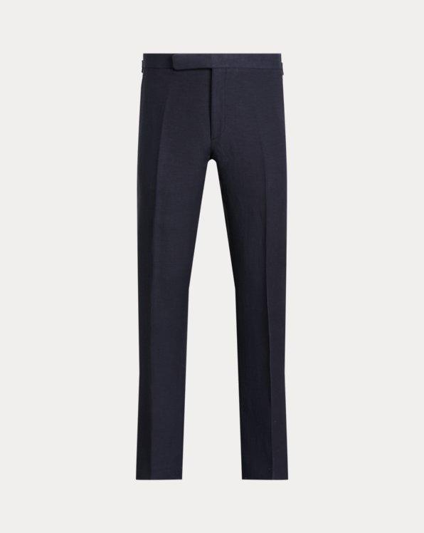 Gregory Linen-Silk Suit Trouser