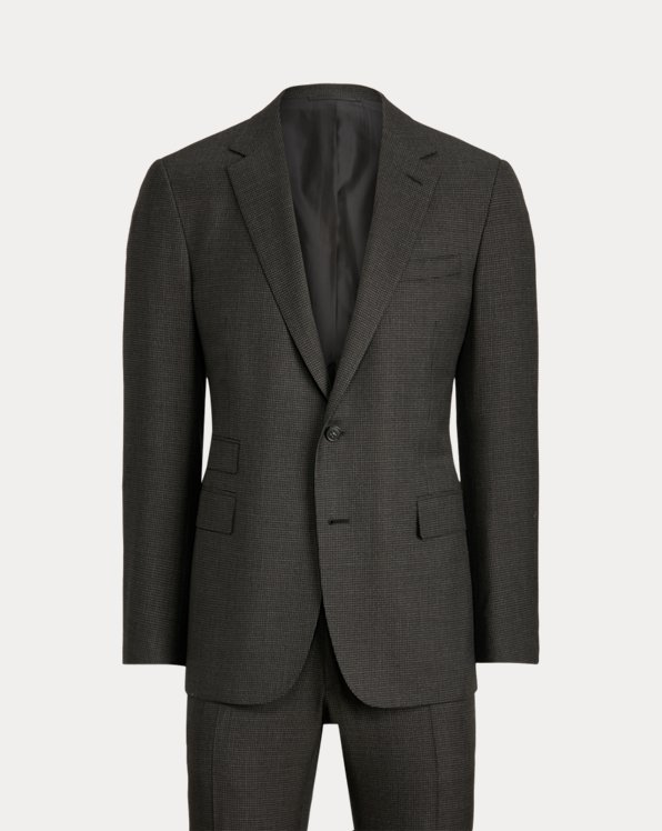 Gregory Handmade Wool Houndstooth Suit