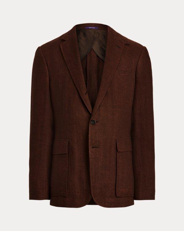 Kent Linen Herringbone Sport Coat