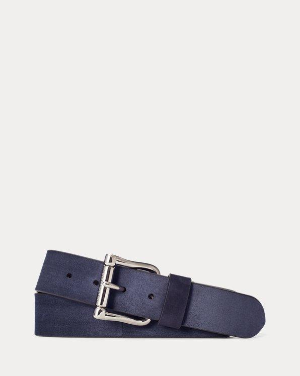 Calf-Suede Belt