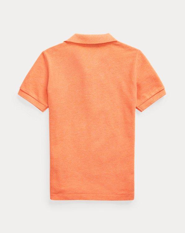 Cotton Mesh Polo Shirt