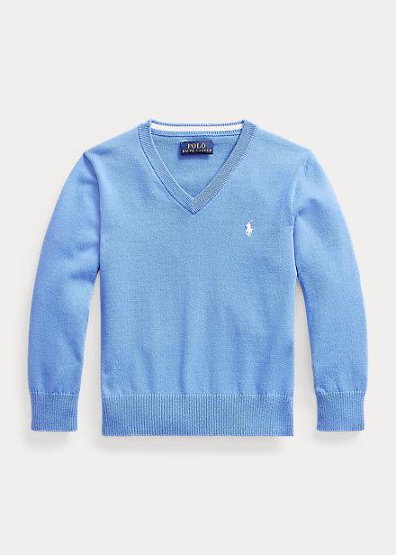 Polo Ralph Lauren Cotton V Neck Sweater