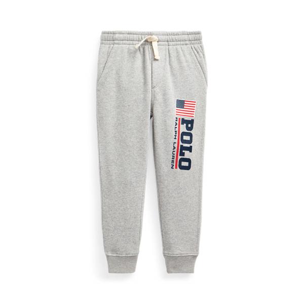 폴로 랄프로렌 남아용 조거 팬츠 Polo Ralph Lauren Logo Fleece Jogger Pant,Andover Heather