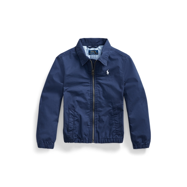 폴로 랄프로렌 남아용 치노 자켓 Polo Ralph Lauren Bayport Stretch Cotton Chino Jacket,Newport Navy