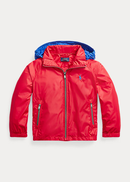 Polo Ralph Lauren Water Resistant Packable Hooded Jacket