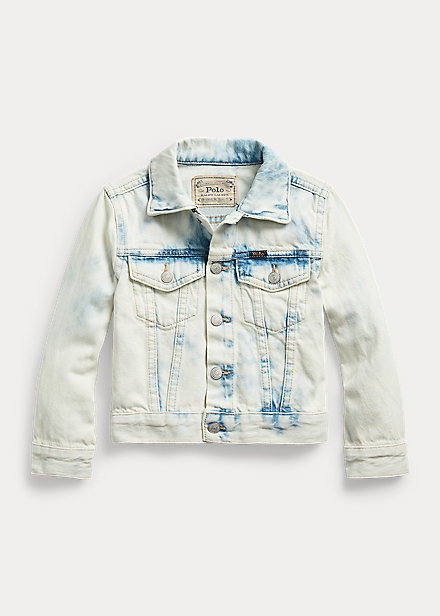 Polo Ralph Lauren Faded Denim Trucker Jacket
