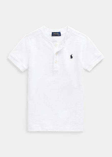 Polo Ralph Lauren Featherweight Cotton Mesh Henley Shirt
