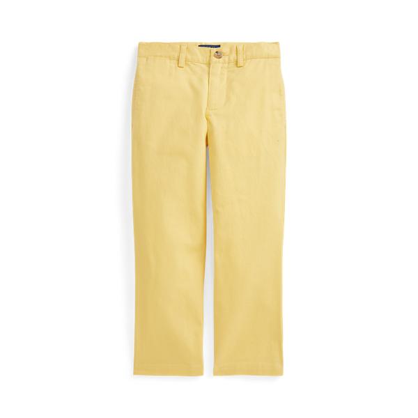 폴로 랄프로렌 남아용 팬츠 Polo Ralph Lauren Slim Fit Stretch Twill Pant,Empire Yellow