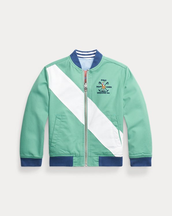 Reversible Stretch Twill Jacket