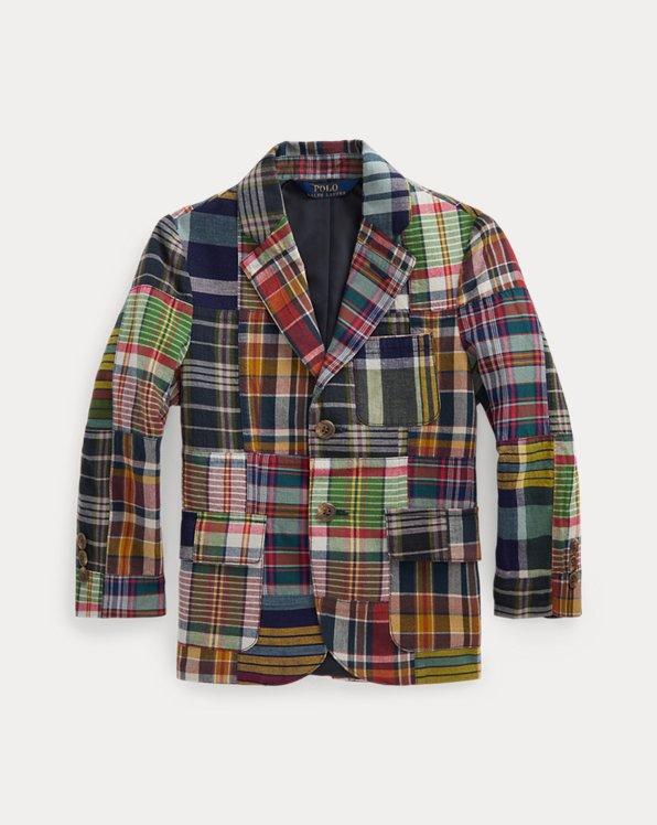 Patchwork Cotton Madras Sport Coat