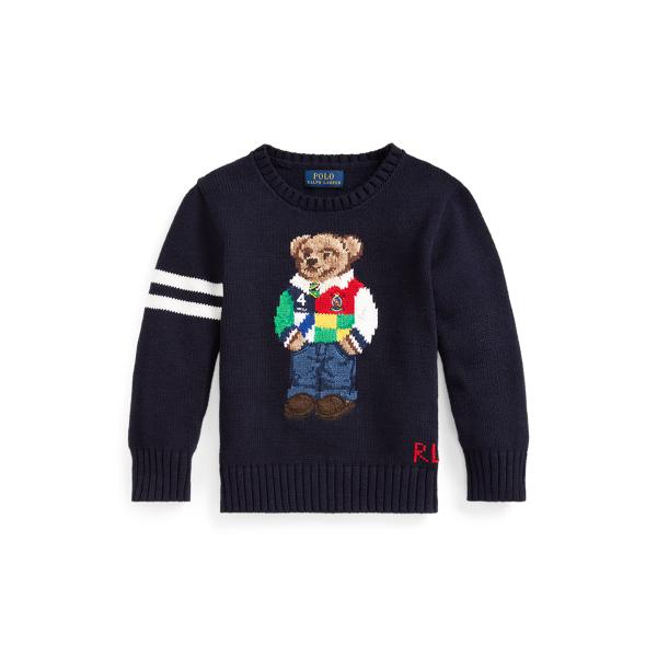 폴로 랄프로렌 남아용 스웨터 Polo Ralph Lauren Polo Bear Cotton Sweater,RL Navy