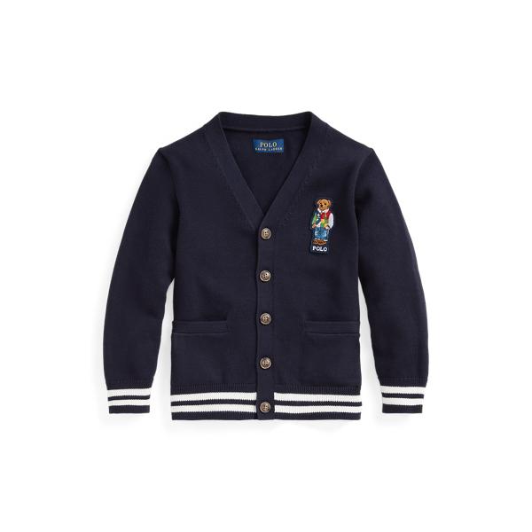폴로 랄프로렌 남아용 가디건 Polo Ralph Lauren Polo Bear Cotton Cardigan,RL Navy