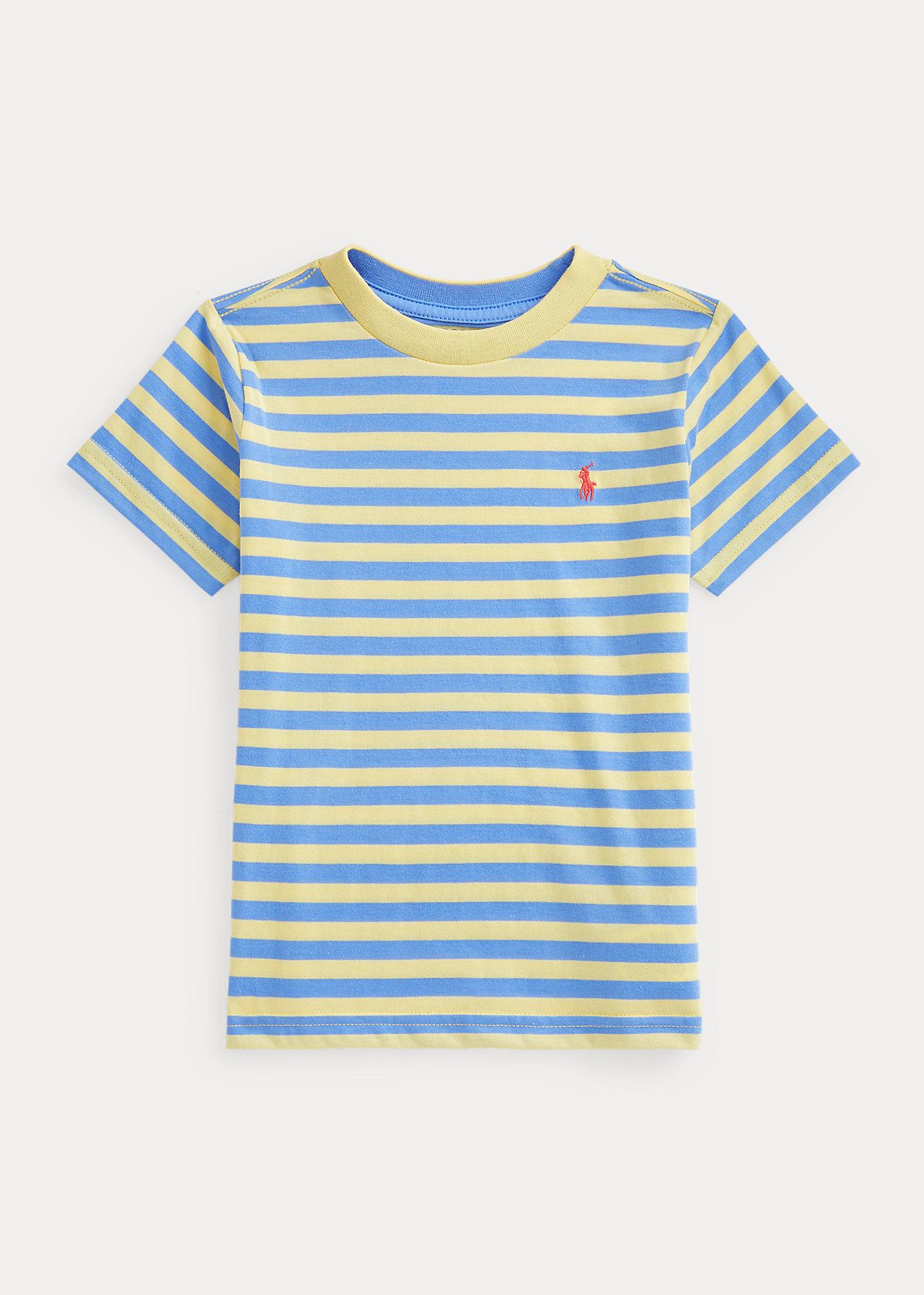 Polo Ralph Lauren Striped Cotton Blend Jersey Tee