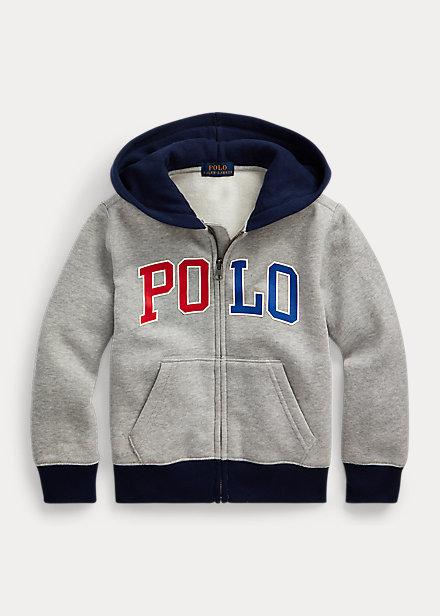 Polo Ralph Lauren Logo Fleece Full-Zip Hoodie