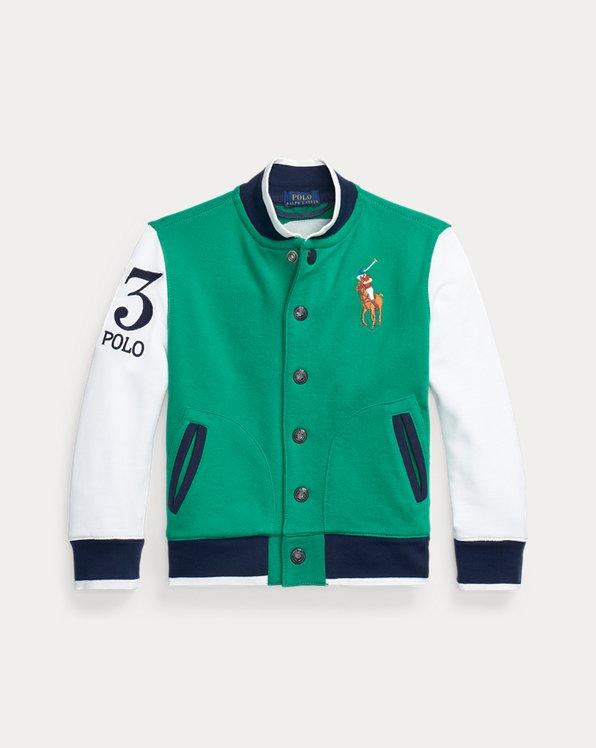 Twill Terry Baseball Jacket