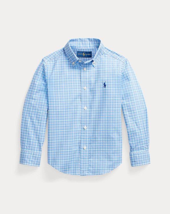 Tattersall Cotton Poplin Shirt