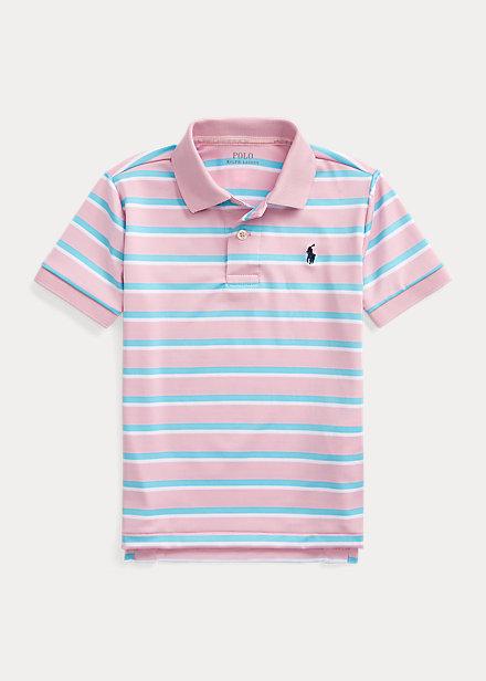 Polo Ralph Lauren Striped Performance Lisle Polo Shirt
