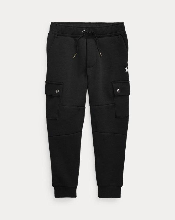 폴로 랄프로렌 남아용 조거 팬츠 Polo Ralph Lauren Double-Knit Cargo Jogger Pant,Polo Black