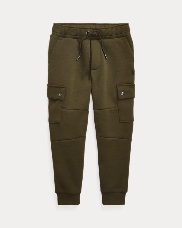 폴로 랄프로렌 남아용 조거 팬츠 Polo Ralph Lauren Double-Knit Cargo Jogger Pant,Company Olive