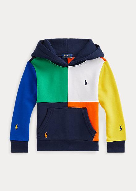 Polo Ralph Lauren Color Blocked Fleece Hoodie