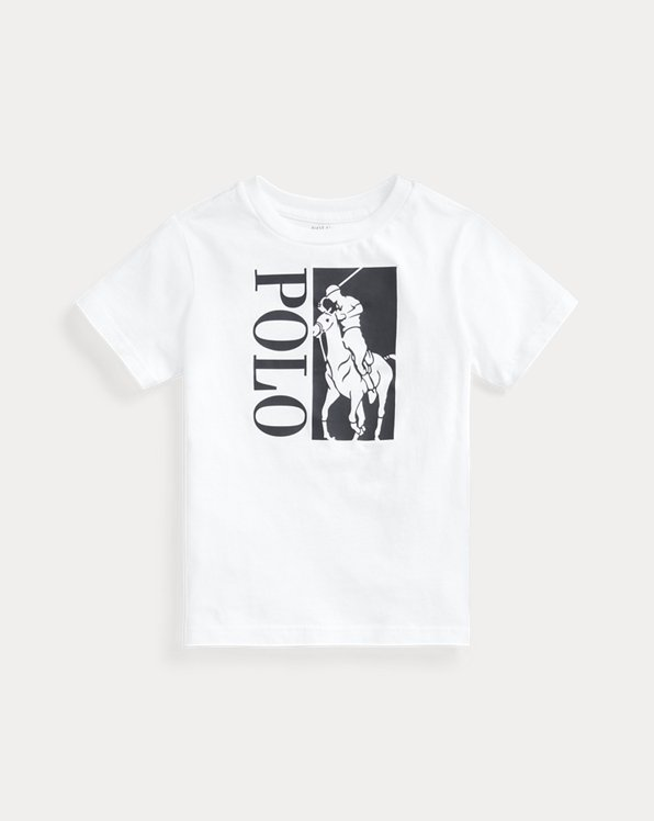 Big Pony Logo Cotton Jersey Tee